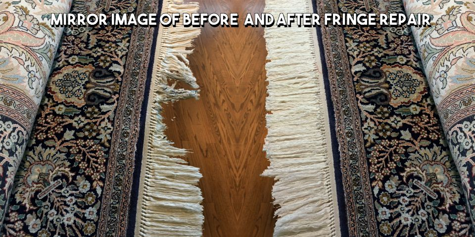Fringe Repair Before and After